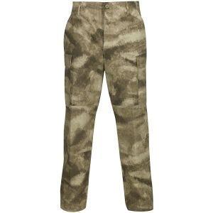 Pantalones de Ripstop de polialgodón Propper BDU con bragueta abotonada en A-TACS AU