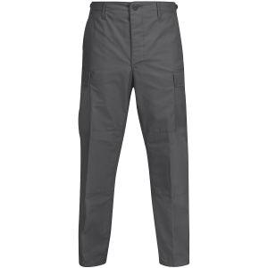 Pantalones de Ripstop de polialgodón Propper BDU con bragueta abotonada en gris oscuro