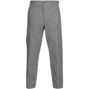 Pantalones de Ripstop de polialgodón Propper BDU con bragueta abotonada en gris