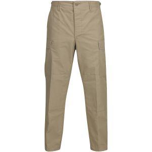 Pantalones de Ripstop de polialgodón Propper BDU con bragueta abotonada en caqui