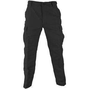 Pantalones de uniforme de Ripstop de polialgodón Propper BDU en negro