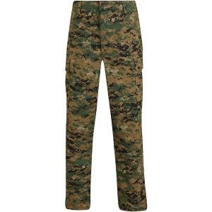Pantalones de uniforme de Ripstop de polialgodón Propper BDU en Digital Woodland