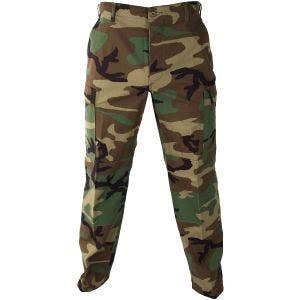 Pantalones de uniforme de Ripstop de polialgodón Propper BDU en Woodland