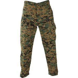 Pantalones Propper ACU de Ripstop de polialgodón en Digital Woodland