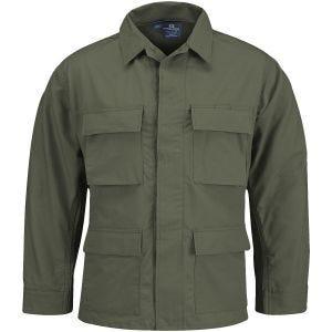 Chaqueta de uniforme Propper BDU de Ripstop de polialgodón en verde oliva