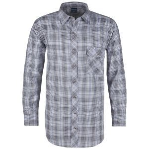 Camisa abotonada de manga larga Propper Covert en Ocean Blue Plaid