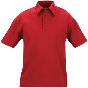 Polo de manga corta de alto rendimiento para hombre Propper I.C.E. en rojo