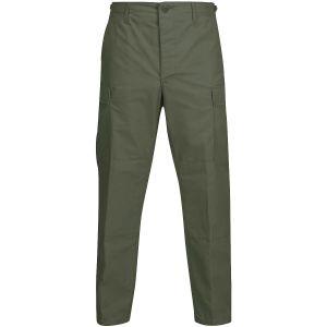 Pantalones de uniforme Propper BDU de Ripstop de polialgodón en verde oliva