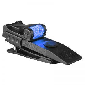 Linterna LED QuiqLite Pro en blanco/azul