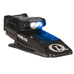 Linterna LED QuiqLite Stealth en blanco / azul