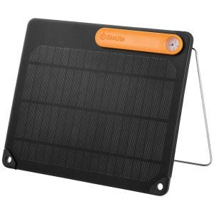 Panel solar BioLite 5 en negro