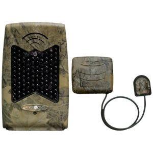 Amplificador IR inalámbrico SpyPoint con flash LED negro invisible en Camo