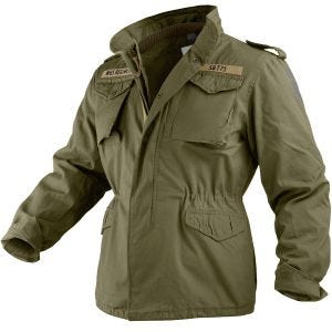 Chaqueta Surplus M65 Regiment en verde oliva