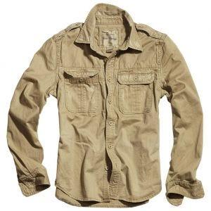 Camisa de manga larga Surplus Raw Vintage en beige