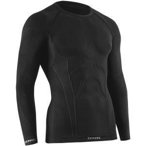 Camiseta de manga larga Tervel Comfortline en negro