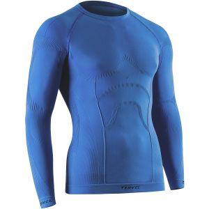 Camiseta de manga larga Tervel Comfortline en azul