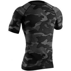 Camiseta de manga corta Tervel Optiline Light Tactical en negro / gris