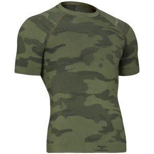 Camiseta táctica y ligera de manga corta Tervel Optiline en Military / gris