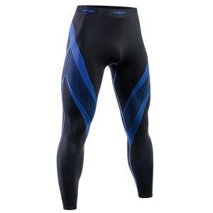 Leggings deportivos Tervel Optiline en negro / azul