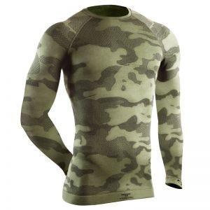 Camiseta táctica de manga larga Tervel Optiline en Military / gris