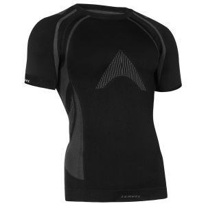 Camiseta de manga corta Tervel Optiline Light MOD-02 en negro / gris