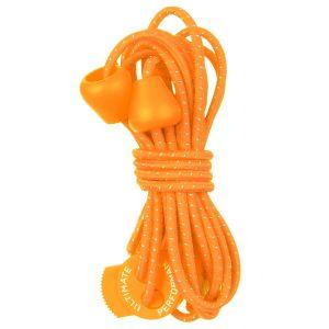 Cordones elásticos reflectantes Ultimate Performance en naranja