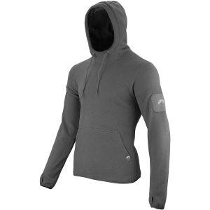 Sudadera con capucha Viper Tactical de forro polar en Titanium