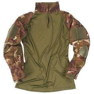 Camisa con coderas Mil-Tec Warrior en Vegetato Woodland