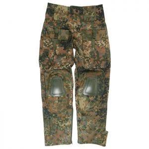 Pantalones con rodilleras Mil-Tec Warrior en Flecktarn