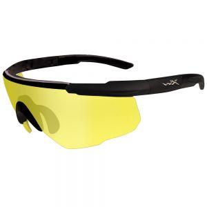 Gafas Wiley X Saber Advanced con lentes en Pale Yellow y montura en negro mate
