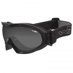 Gafas de protección Wiley X Nerve con lentes ahumadas grises + transparentes y montura en negro mate