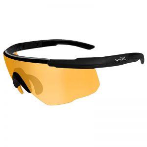 Gafas Wiley X Romer II Advanced con lentes en naranja claro y montura en negro mate