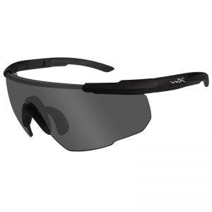 Gafas Wiley X Saber Advanced con lentes ahumadas grises y montura en negro mate