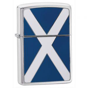 Mechero con la bandera de Escocia Zippo