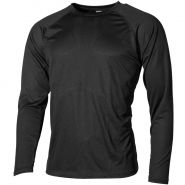 Camiseta interior MFH US Level I Gen III en negro