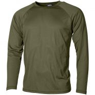 Camiseta interior MFH US Level I Gen III en OD Green