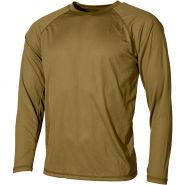 Camiseta interior MFH US Level I Gen III en Coyote Tan