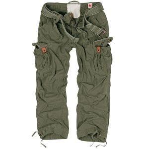 Pantalones Surplus Premium Vintage en verde oliva