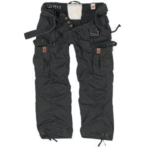 Pantalones Surplus Premium Vintage en negro
