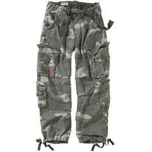 Pantalones Surplus Airborne Vintage en Night Camo