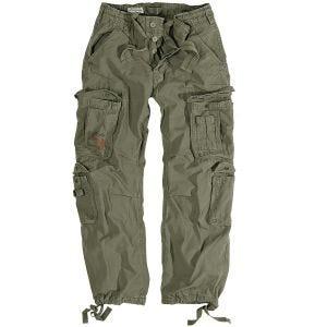 Pantalones Surplus Airborne Vintage en verde oliva