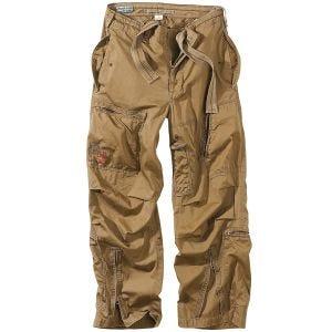 Pantalones de estilo cargo Surplus Infantry en Coyote
