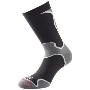 Calcetines deportivos 1000 Mile Fusion Flat Toe Seam en negro
