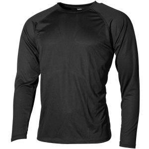 Camiseta interior MFH US Level I Gen III en negro