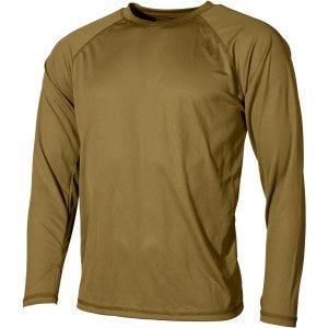 Camiseta interior MFH US Level I Gen III en Coyote Tan