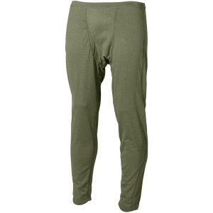 Pantalones interiores MFH US Level II Gen III en OD Green