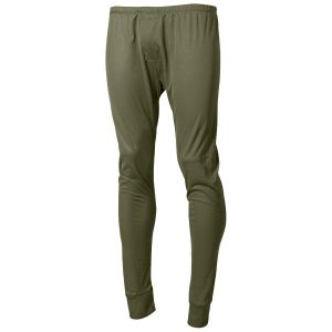 Pantalones interiores MFH US Level I Gen III en OD Green