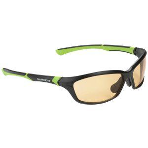 Gafas de sol Swiss Eye Drift con lentes ahumadas fotocromáticas en naranja y montura mate en negro y verde