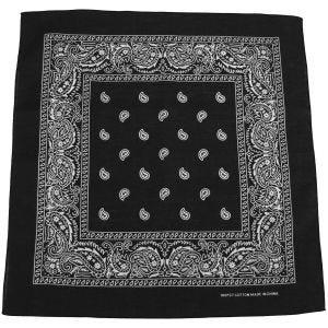 Bandana MFH de algodón en negro