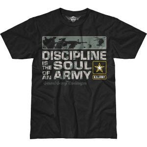 Camiseta 7.62 Design Army Discipline Battlespace en negro